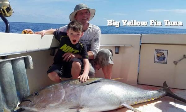 full day offshore fishing quepos costa rica