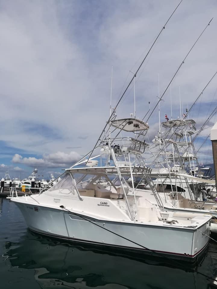 36 ft fishing boat quepos costa rica