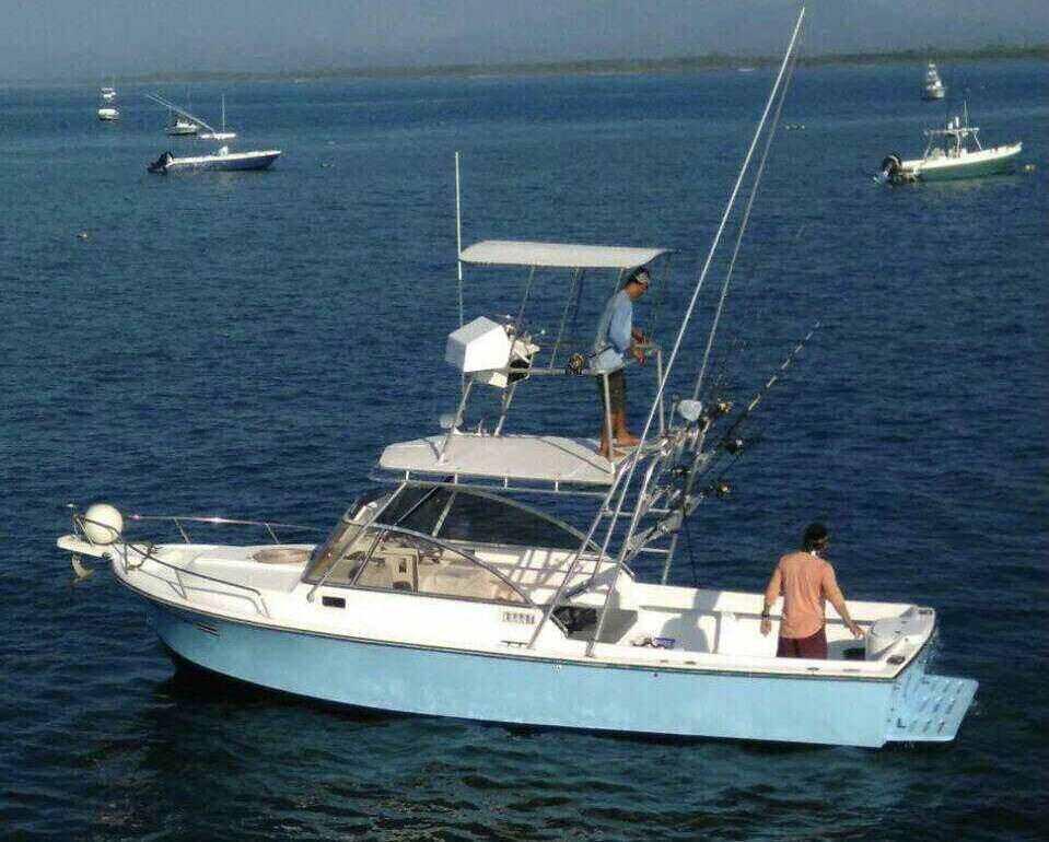 28 ft fishing boat quepos costa rica